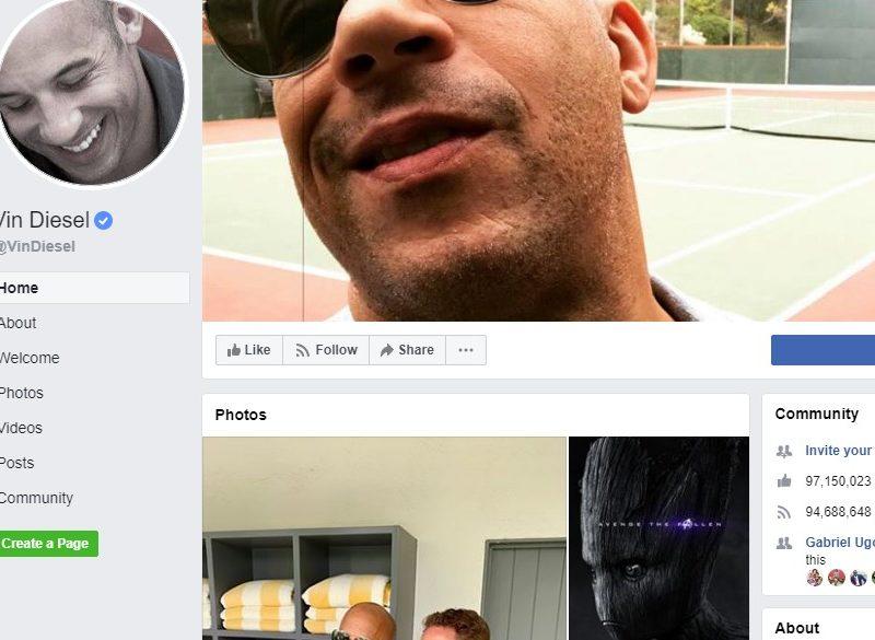 Vin Diesel page