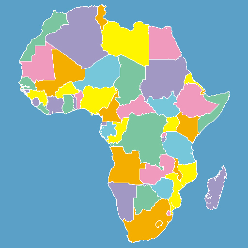 How many Countries are in Africa